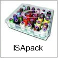 ISApack 42 New Colors 2008 Isacord Polyester Embroidery Thread Kit + 2 Plastic Cases